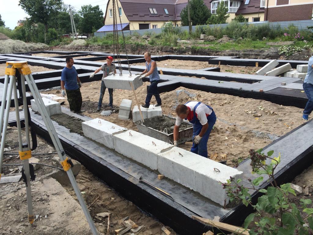 Бетон на фундамент в калининграде купить состав цементного раствора для наружной штукатурки